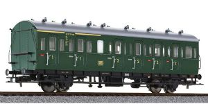 Liliput L334058 DB 2-Axle 1st/2nd Class Compartment Coach, Green Livery, Era III - SPECIAL OFFER